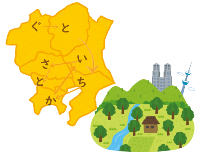都道府県の覚え方 語呂合わせ