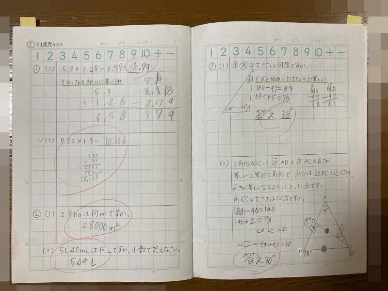 間違いノートの作り方